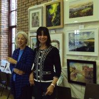 Christine and Julie Exhibition Nov 2014