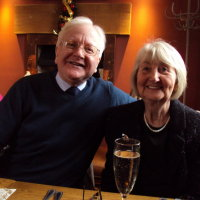 Joan and Frank Christmas lunch 2015
