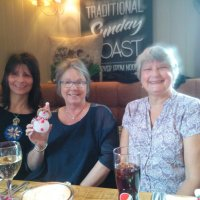 Julie, Carol and Janet Christmas Lunch 2015