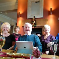 Sylvia, Wendy, Frank and Diana Christmas Lunch 2015