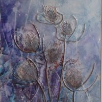 Winter Teasels £70.00