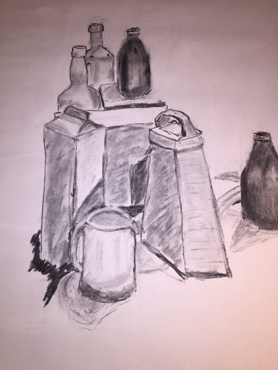 Exercise - charcoal on paper