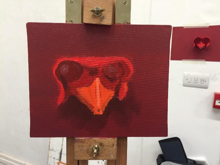 Red eggbox?