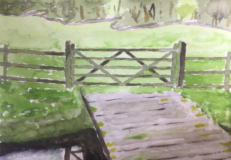 Bridge over the Gailey Brook