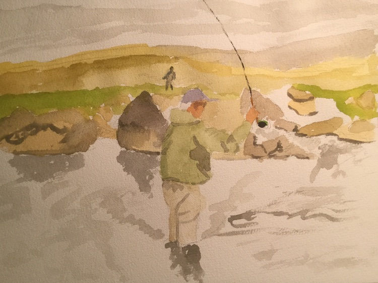 Fishing in the Icelandic Highlands