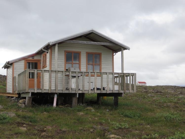 Accomadation at Arnavatnasheidi,  Icelandic Highlands