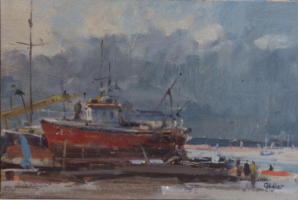 Approaching Rain on Mersea