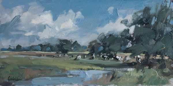 Cattle by the Stour