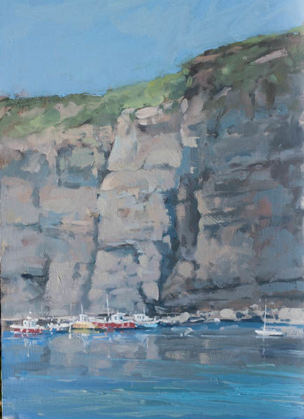Cliffs at Staithes