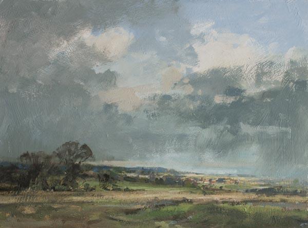Distant Rain Suffolk
