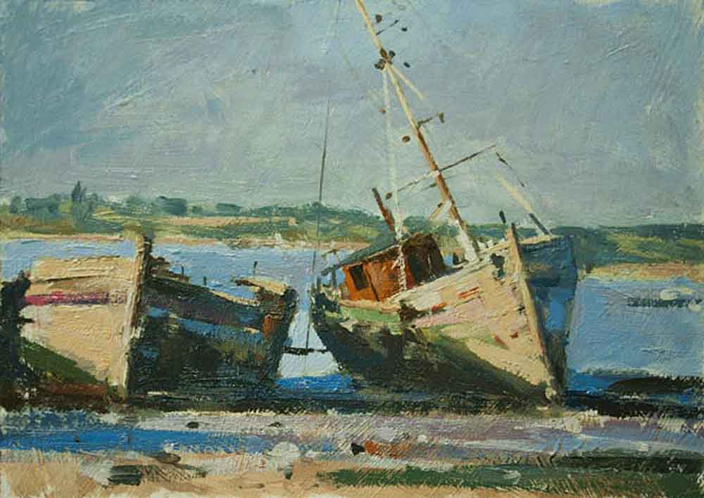 "Forgotten Boats - Pin Mill <font color=""red"">&#8226;</font>"