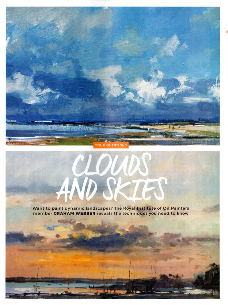 Artists & Illustrators - Graham Webber - Clouds and Skies