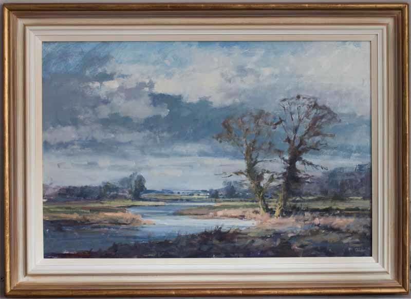 River Landscape by Graham Webber