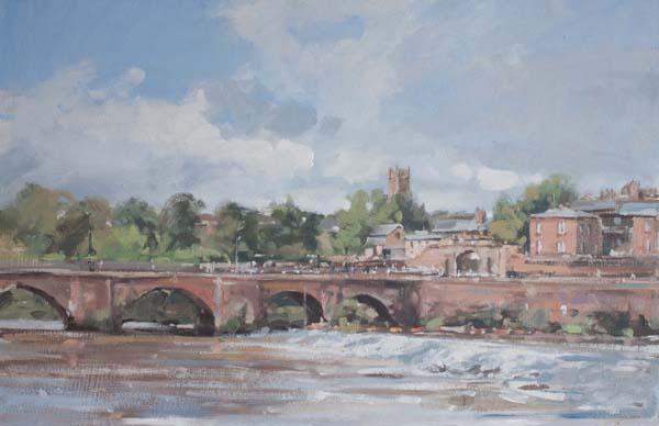 The Old Dee Bridge