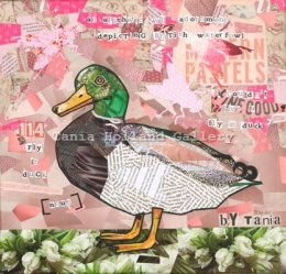 "No 114. Fly in Duck [Noun]:  An apathetic wall adornment depicting British waterfowl.  ""I couldn't give a fly in duck""."