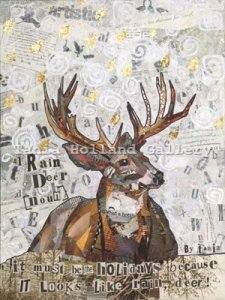 No 41. Rain Deer [Noun]:  It must be the holidays because it looks like rain deer!