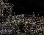 Edinburgh glowing