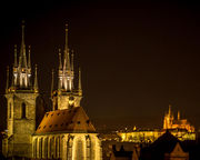 Twin spires