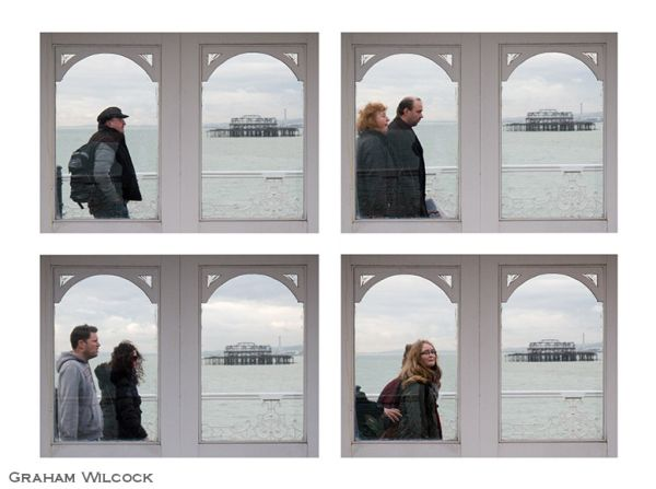 Four Pier Portraits