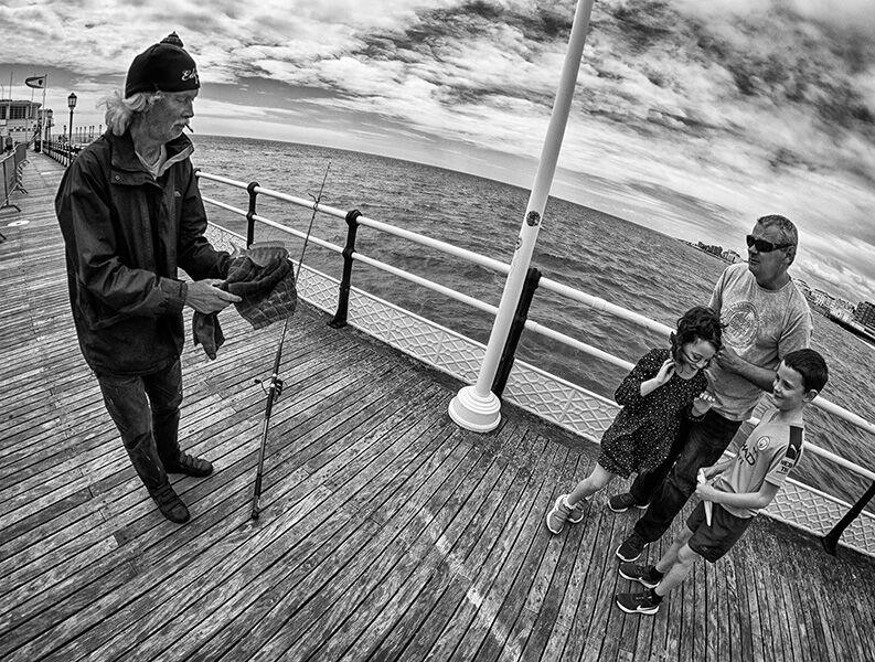 Worthing Pier Fisheye