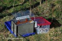 Portable Skinner Moth Trap