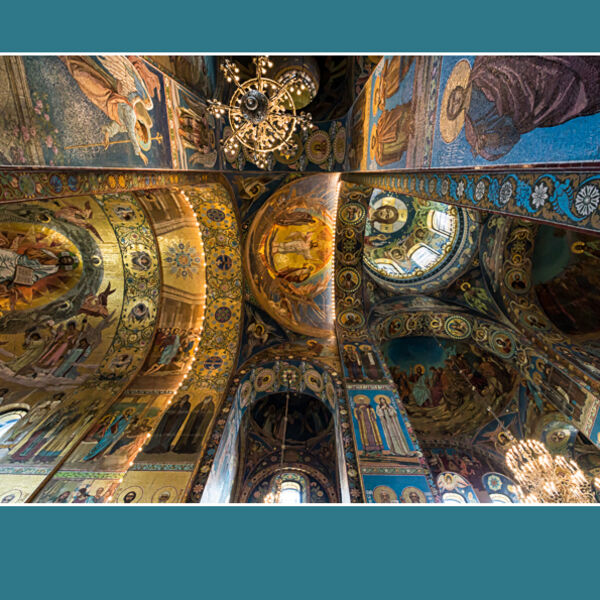 Church of the Saviour of Spilled Blood - St Petersburg