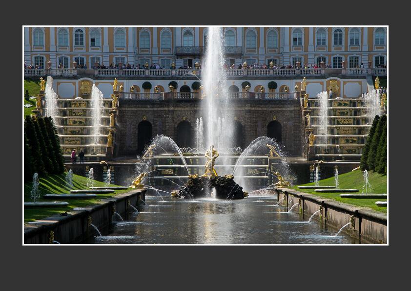 Peterhof Fountains - St Petersburg