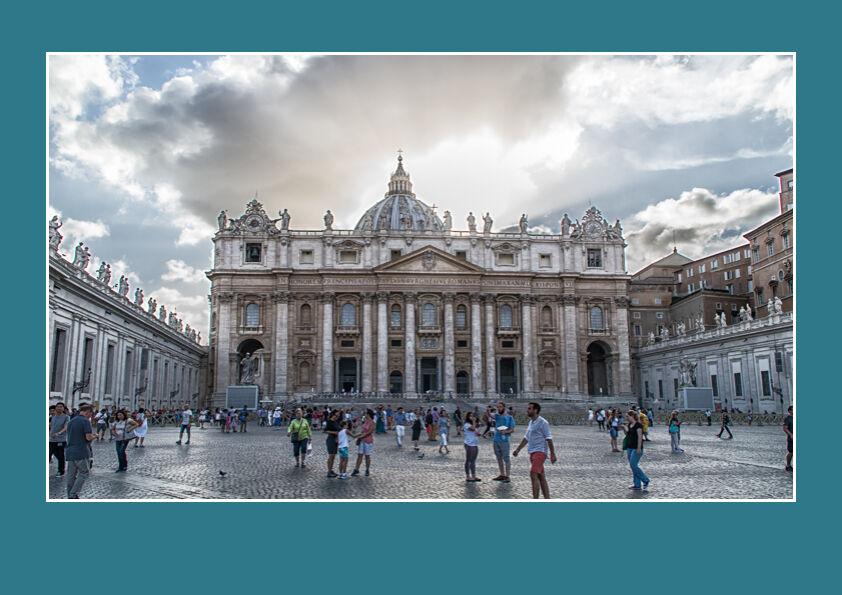 St Peter's Basilica, - Vatican City