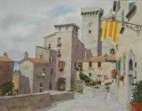 Towers, Bolsena. Umbria