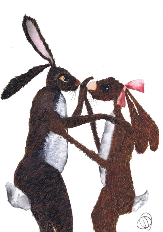 HARE IN LOVE