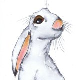 THINKING HARE h3083