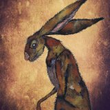 BROWN HARE h3204