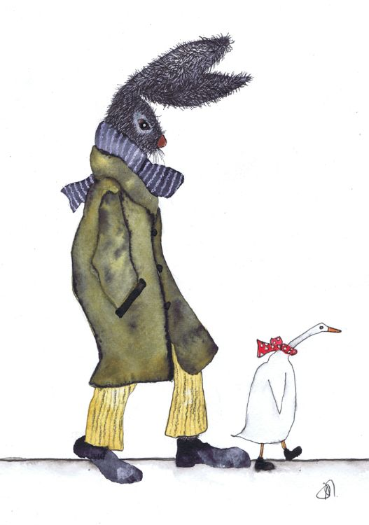 THE HARE AND THE DUCK