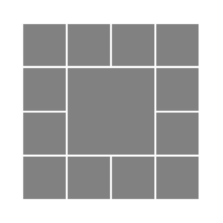 13 Box Square Design - £90
