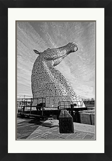 The Kelpies Black & White - £176