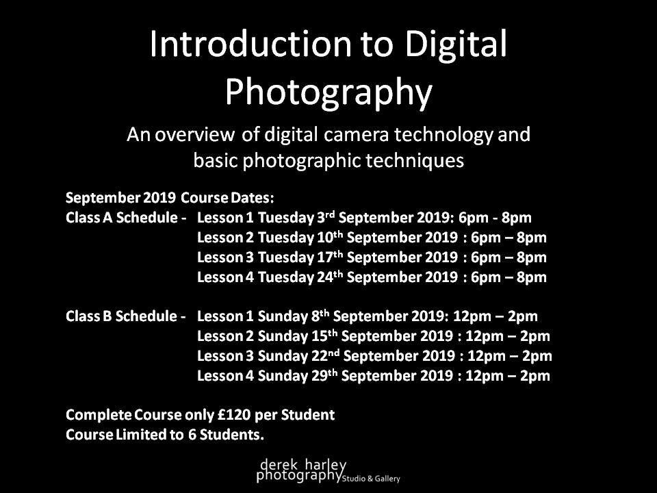 September 2019 Schedule