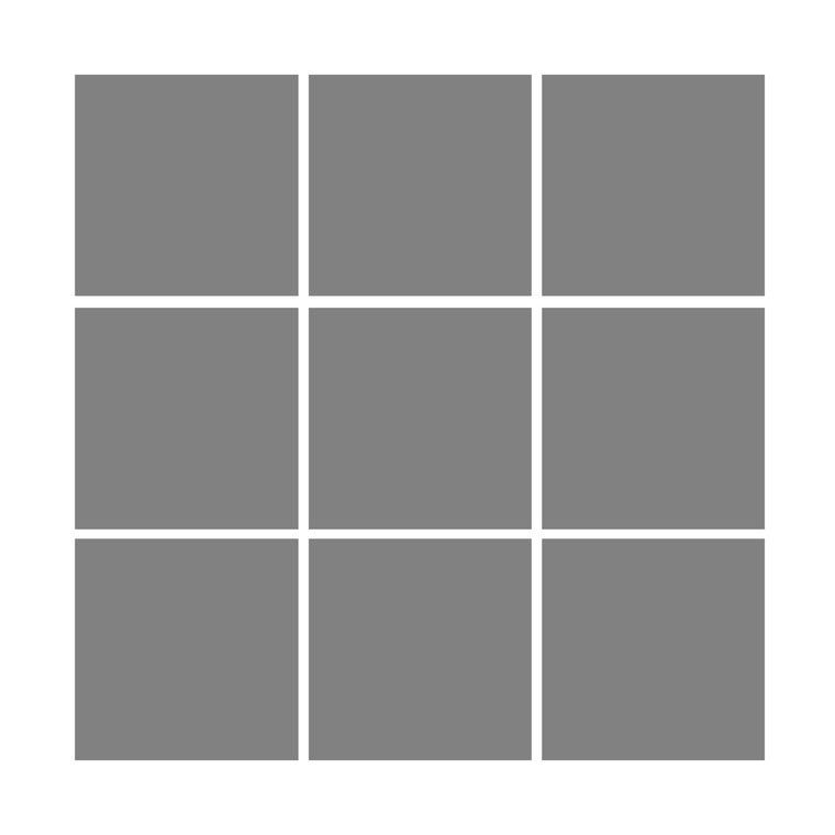 9 Box Square Design - £65