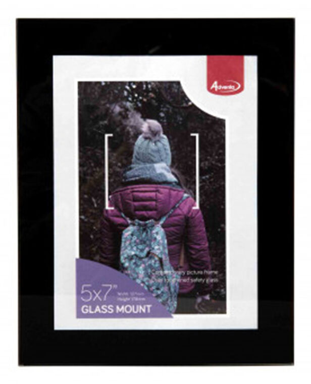 """Glass Mount 5 x 7"""" (13 x 18cm)"""