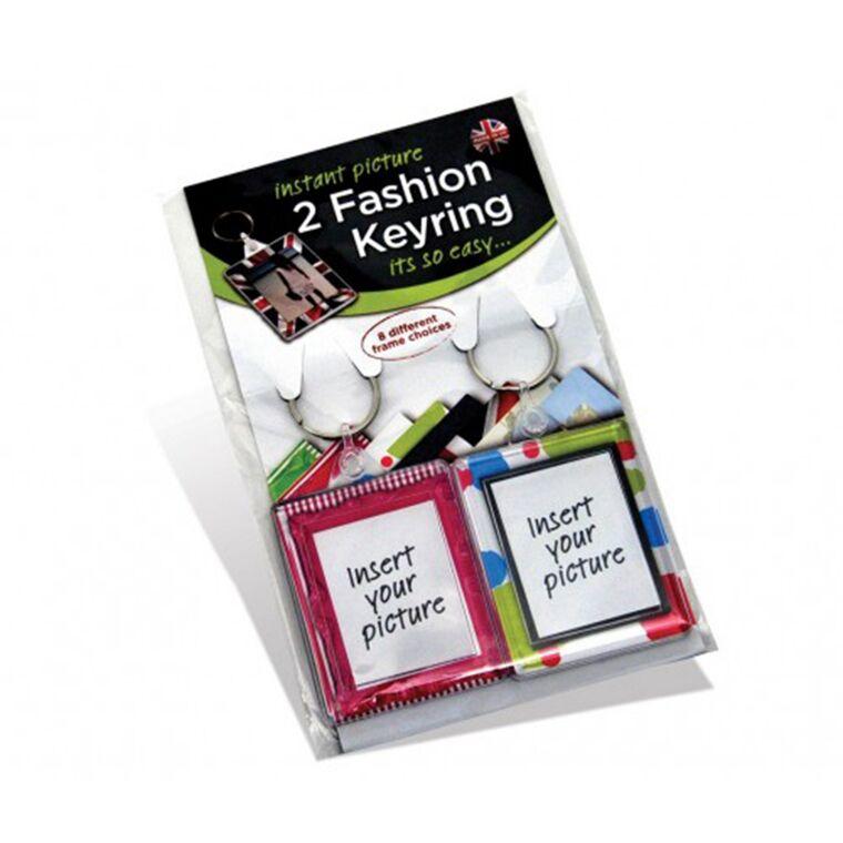 Fashion Keyring Twin Pack