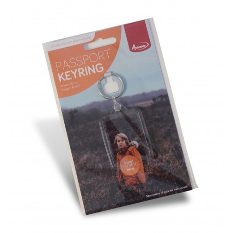 Photo Passport Keyring