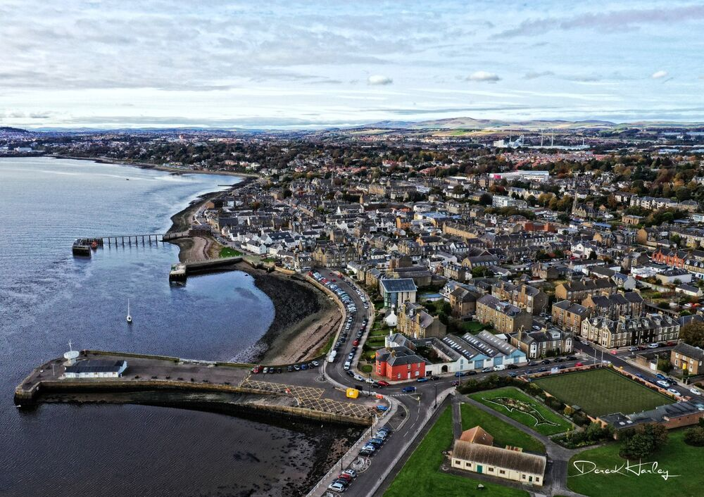 Broughty Ferry by Drone