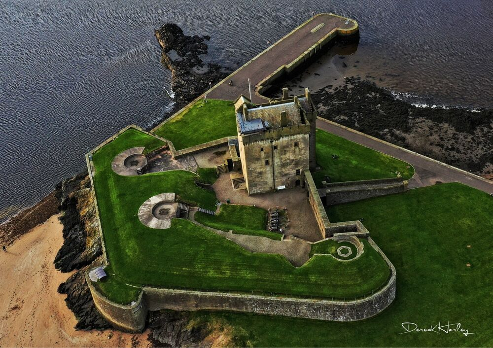 Broughty Ferry Castle by Drone