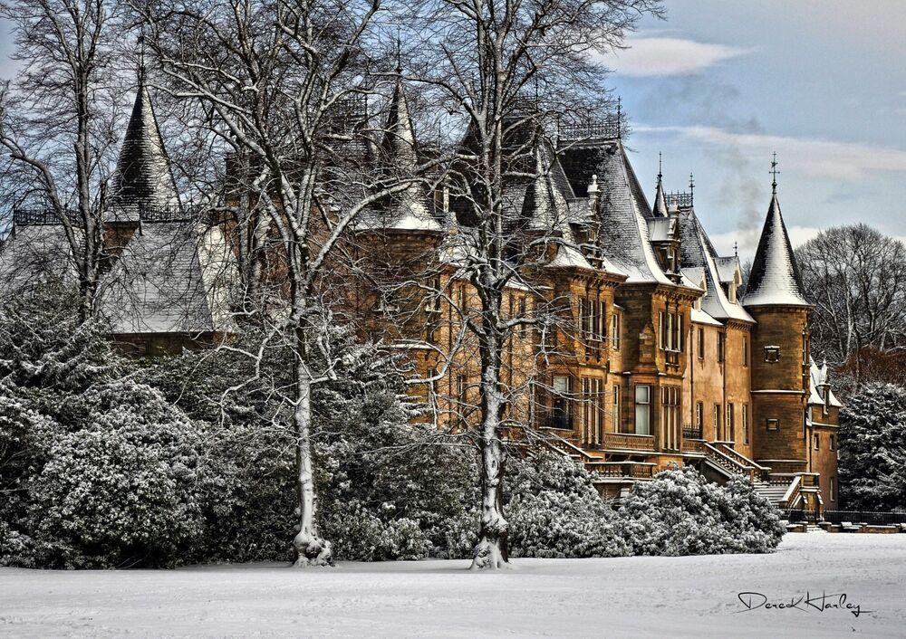 Callander House in Winter
