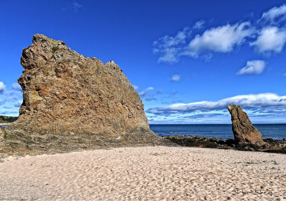 Cullen Beach, Banffshire