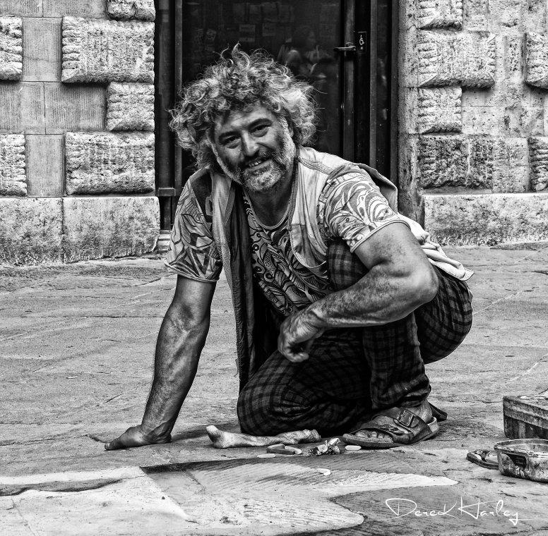Street Artist Siena, Italy