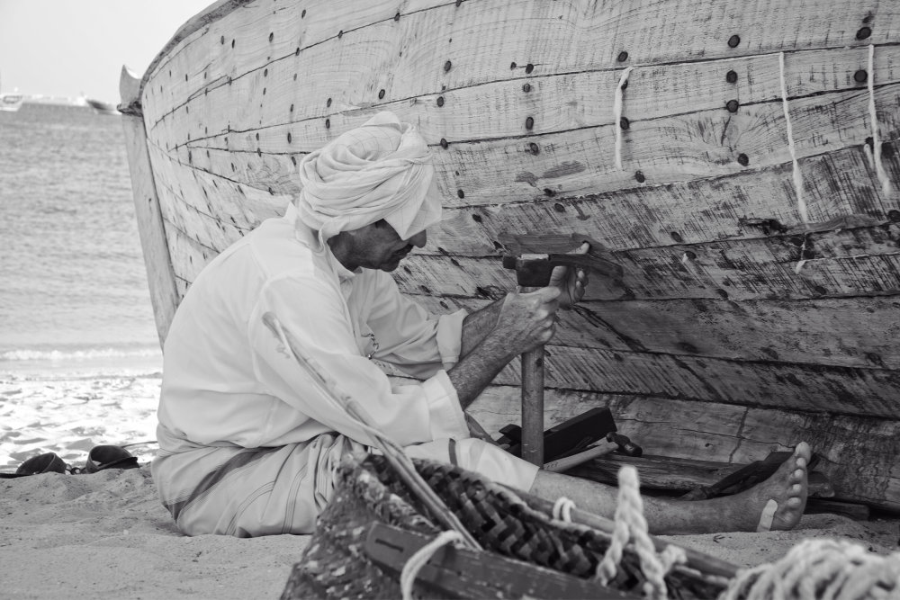 The Dhow Builder