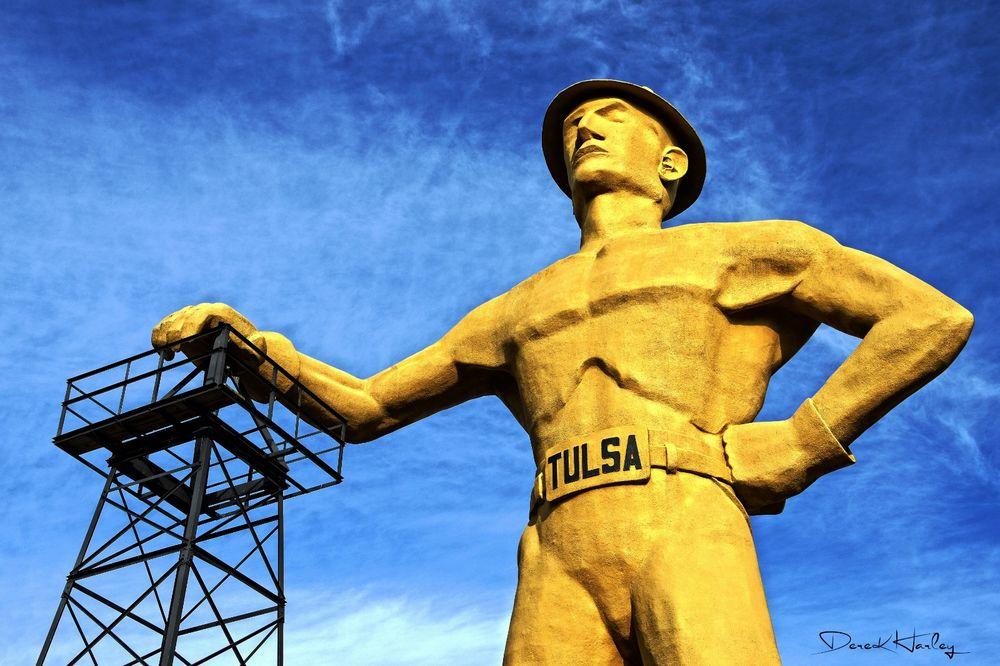 The Golden Driller, Tulsa, Oklahoma