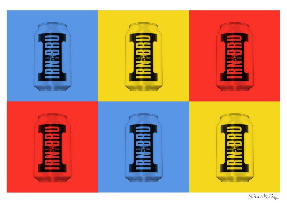 Warhol Style Irn Bru