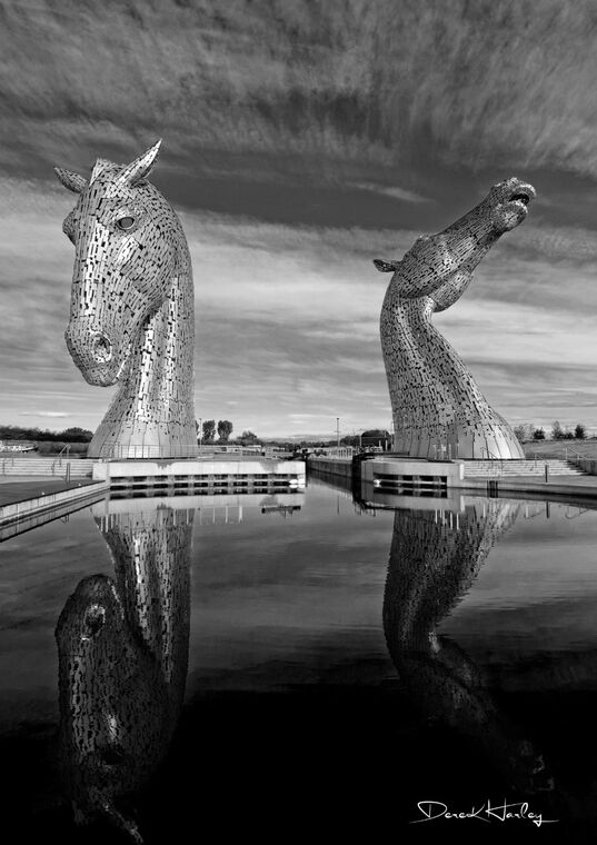 Kelpies in Infrared