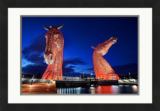 The Kelpies at Night (SOLD OUT)